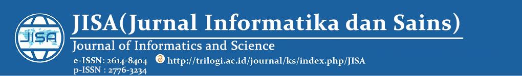 Jurnal JISA (Jurnal Informatika dan Sains)